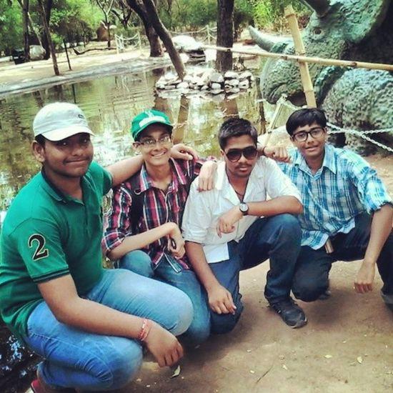 Instasnap Selfie At Indroda nature park (Gandhinagar) with my bestie