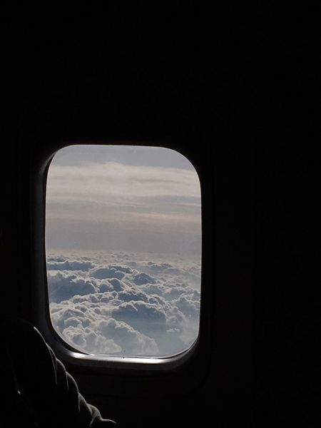 ✈️ 여행자 창문 비행기 여행 Travel Destinations Tourist Tourism Trip Window Vehicle Interior Window Airplane Transportation Sky Travel Cloud - Sky Journey Landscape Air Vehicle Indoors  Scenics Nature Airplane Wing Beauty In Nature