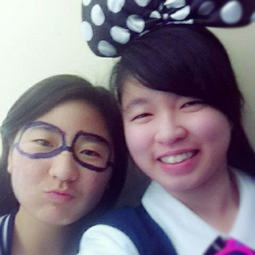 Yay with Lisa! Year12 Year12video HSC Graduating minniemouse