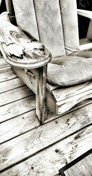 Monochrome Photography Backyard Photography Wooden Relaxing Time Adirondackchairs Wooden Chair