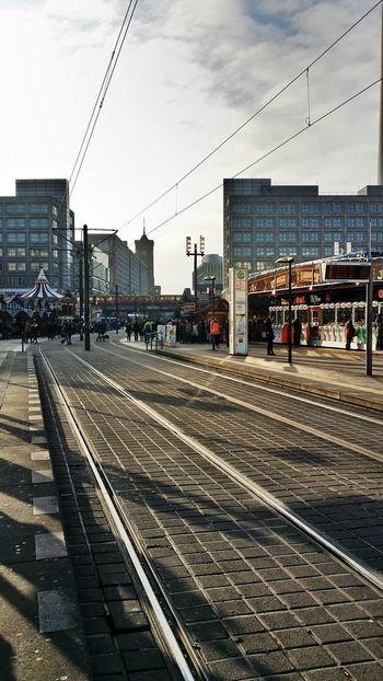 Xmas in Alexanderplatz Xmas Market Berlin Architecture Track