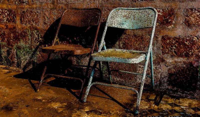 Chairs Chairs Abondoned Rusted Rusted Metal  EyeEm EyeEm Best Shots EyeEmNewHere EyeEm Gallery EyeEm Selects EyeEmBestPics EyeEm Best Edits Eyeemphotography Furnitures Furniture Photography Full Frame Backgrounds Abstract Textured  Pattern Close-up No People Day