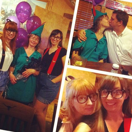 Celebrated my moms 50th birthday tonight. ?? Surpriseparty Dressup