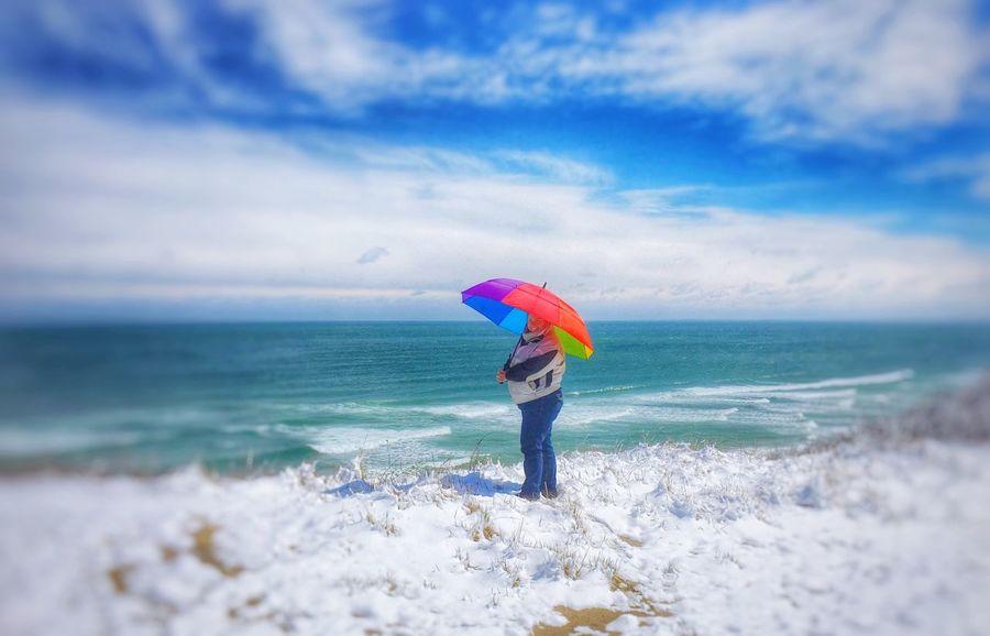 ShotoniPhone6s Rainbow Umbrella Cape Cod EyeEm Best Shots April Showcase