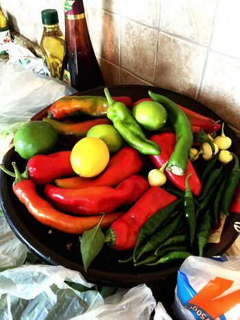Peppers Redpeppers Check This Out Colorful