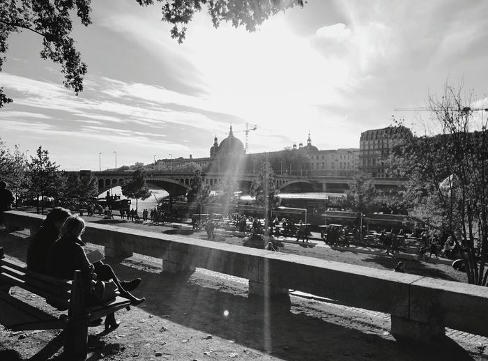 Day 118 - Sunny day in Lyon Lyon France Streetphotography Streetphoto_bw 365project 365florianmski Day118