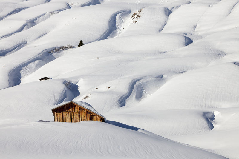 Traditional wooden hut in snow, Alps, Austrian Farm Alpine Alps Austrian Barn Beauty In Nature Chalet Cold Temperature Day Hills Hut Landscape Mountain Nature No People Outdoors Rocks Snow Snowy White Color Winter Winter Wintertime