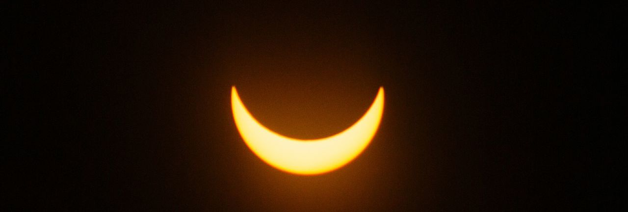 Old man Sol smilin' down on me... Astronomy Moon Eclipse Solar Eclipse Natural Phenomenon Scenics Sky Science Outdoors Crescent Beauty In Nature No People Space Nature