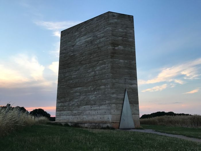 Architecture Zumthor Chapel Built Structure Church Sky Outdoors No People Evening Sky