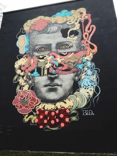 Blo Marble Giant Mural Street Art