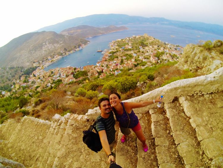 Faces Of Summer Up Top MEIS Kastellorizo Megisti Holiday Greek Island Little Island