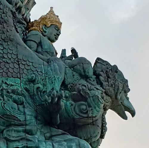 Garuda Wisnu Kencana Bali, Indonesia Statues And Monuments Statues In The Sky Sculpture Mythology Historic
