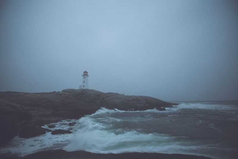 Lighthouse Novascotia Hello World Check This Out