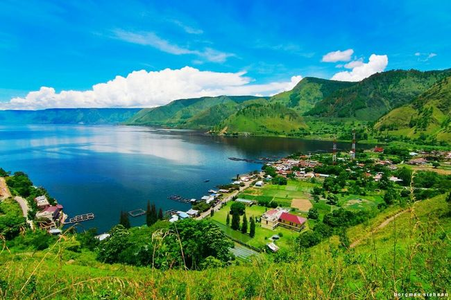Toba Lake, Tongging, Indonesia My Country In A Photo Toba Lake Tongging INDONESIA Landscape Landscape_photography