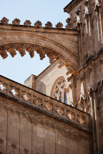 Architecture Low Angle View Travel Destinations Travel Arch History Architectural Column Built Structure Old Ruin Cathedral Cathedral Walls Mallorca Island Palma Palma De Mallorca❤ Palmademallorca Palma De Mallorca Mallorca (Spain) Mallorcaphotographer SPAIN Spain♥ Spaın Religion Travel Ancient Architecture