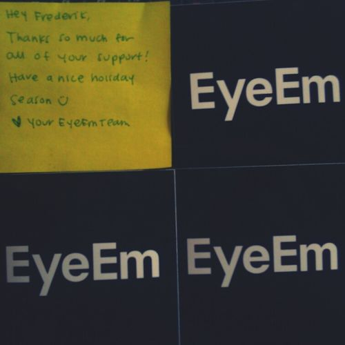my EyeEm stickers arrived today! thanks @eyeem ! Stickers Having Fun With EyeEm Stickers! EyeEm