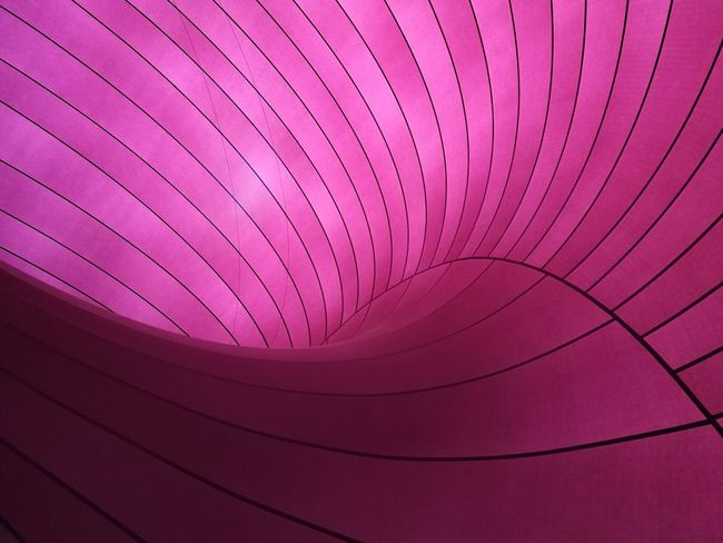 ARK-NOVA Purple Pink Color Abstract No People Pattern Multi Colored Close-up Architecture Indoors  Day Arata Isozaki Baroon Consert Hall  Hall Cool Design Modern 21_21 Desing Sight Tokyo Midtown Japan