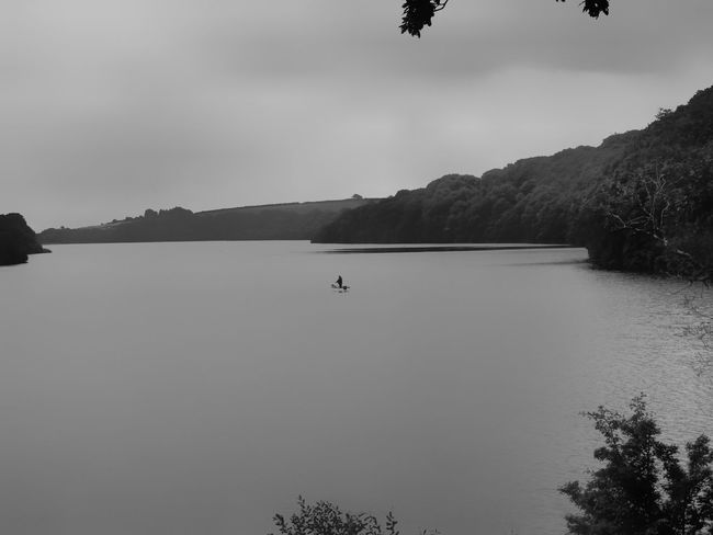 Wales Pembrokeshire Black And White Black And White Photography Lake Lake View Lakeside Dramatic Atmospheric Mood Solitude Zen Escaping Great View TheWeekOnEyeEM Check This Out Photography