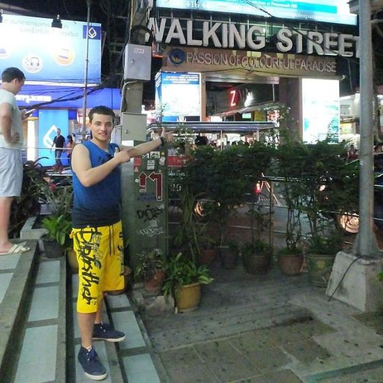 I am In Luv With This Crazy Ass Street ???????❤️??????? Thailand Thai Pattaya Walkingstreet