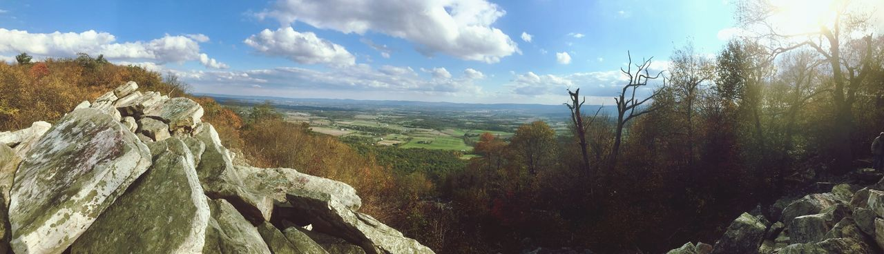 Southern Panorama at Waggoner's Gap