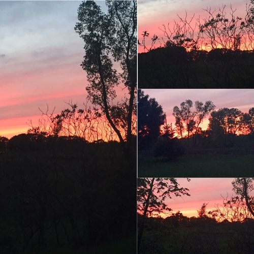 End of the day beauty!! Naturesbeauty Beautiful Sunset WisconsinSunset Beautiful Sunset