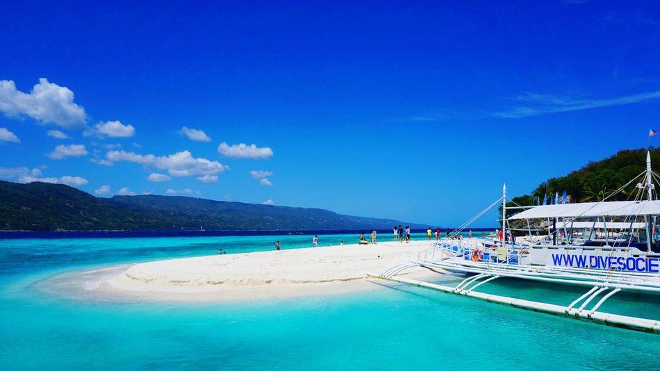 Sumilon Blue Waters . Sandbar Eyeem Cebu Philippines