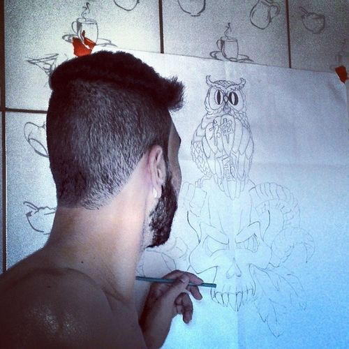 Tarde boa pra se desenhar srrsts Arte Parte2