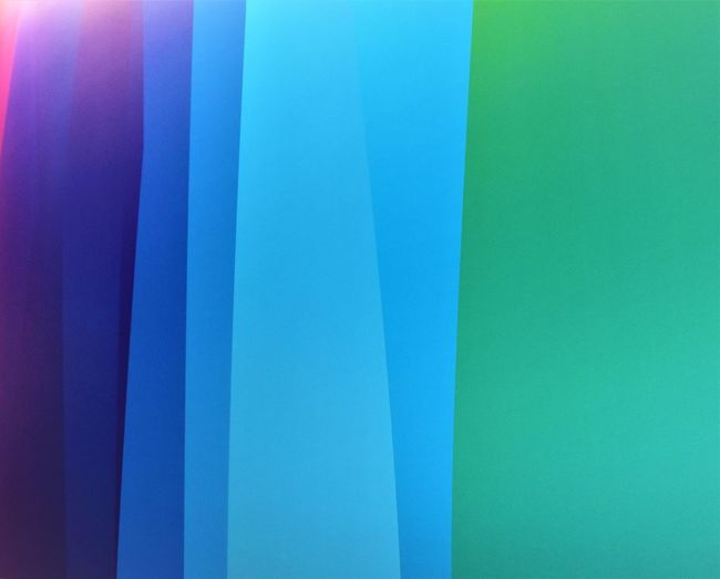 Abstract Backgrounds Blue Choice Clear Sky Close-up Copy Space Day Full Frame Green Color Indoors  Multi Colored No People Paper Pattern Side By Side Sky Textile Turquoise Colored Wall - Building Feature