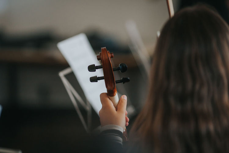 Learning Music Music Academy Artist Arts Culture And Entertainment Holding Music music brings us together Music Is My Life Musical Equipment Musical Instrument Musical Instrument String Musician One Person Orchestra Playing School Skill  String Instrument Violin Violinist Violins