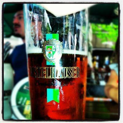 Ore 17.00, a #Würzburg è l'ora di una #landbier Würzburg Landbier