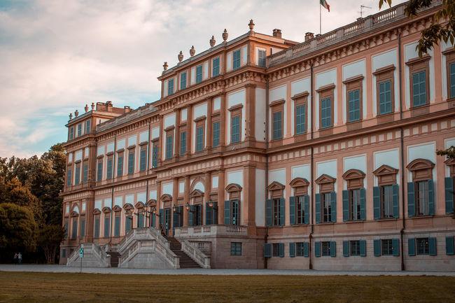 Monza Architecture Building Building Exterior Built Structure No People Travel Destinations Villa Reale