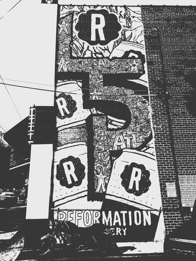 Little 5 Points. Atlanta, Georgia. Little 5 Points Atlanta Atlanta Ga Black & White Daytime Photography Bllack And White Photography Streetphotography Street Art/Graffiti Urban Art Graffiti