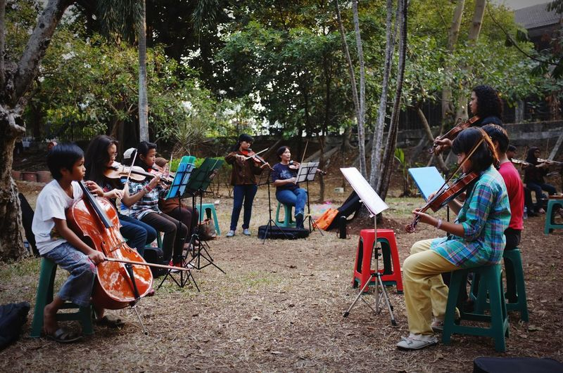 child orchestra Child Orchestra Education Music Park Symphony Violin Cello Teacher Music Musician Musical Instrument Stories From The City