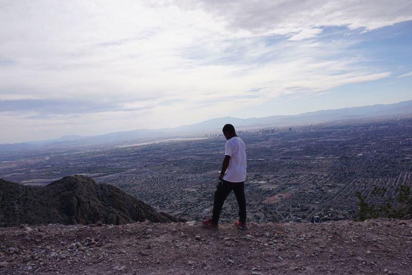 On A Hike Pixxzo Taking Photos Nice Views Nature Enjoying The Sights Selfie Las Vegas Desert Life The Places I've Been Today