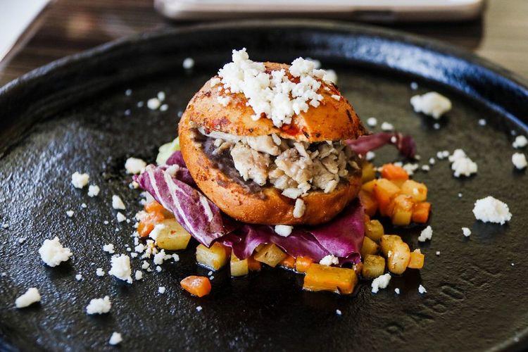 Pambazo, también llamado guajolote en algunas partes de México ISHER_photo Querétaro MOMDRAGON-UCO Traditional Mexican Food