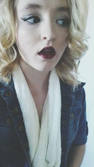 dark lipstick with eyeliner on fleek Makeup Flawless Fabulous