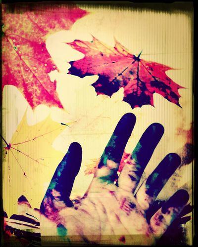 Resmi boyadım sonbahara severim. ?