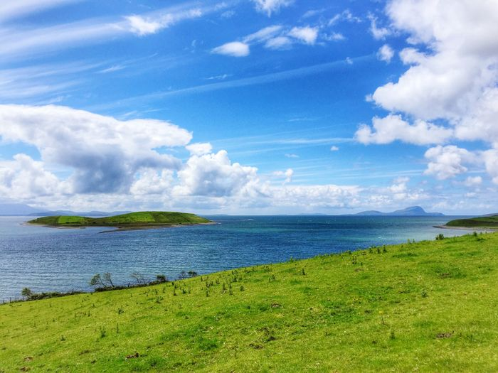 Ireland Clew Bay County Mayo Mayo Achill Achill Island Wild Atlantic Way Green Unspoilt Landscape Nature Natural Natural Beauty Natural Light