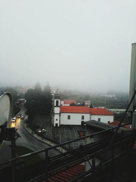Rain Seia Portugal Working Serradaestrela
