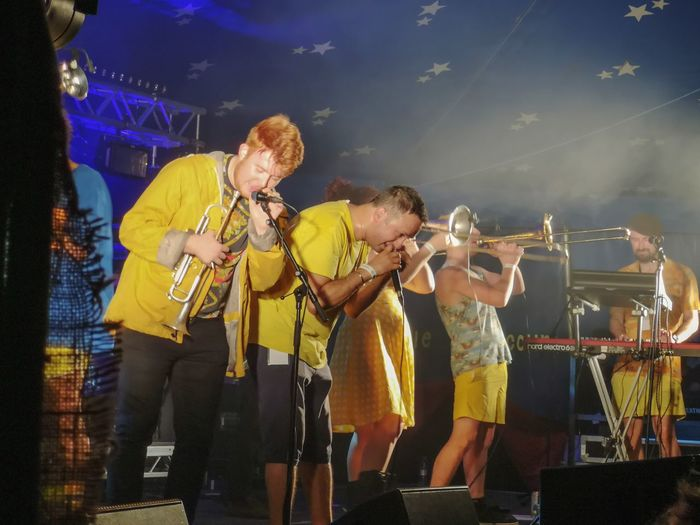 music fun Imperial Leisure Musicians Cornwall Uk Cornish Life Enjoying Life Music Festival Littleorchardciderfestival Nightlife Musician Saxophone Musical Instrument Popular Music Concert Men Togetherness Music Performance Electric Guitar