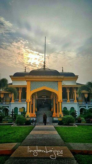 Istana Maimoon, Medan.