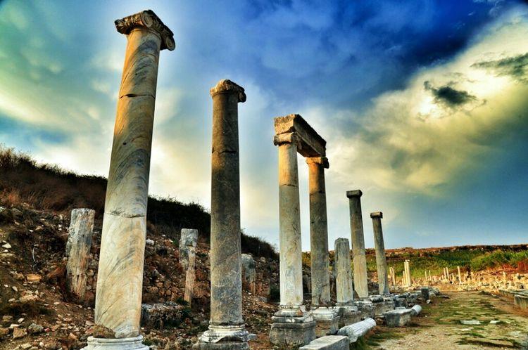 Ancient Ancient Architecture Perge
