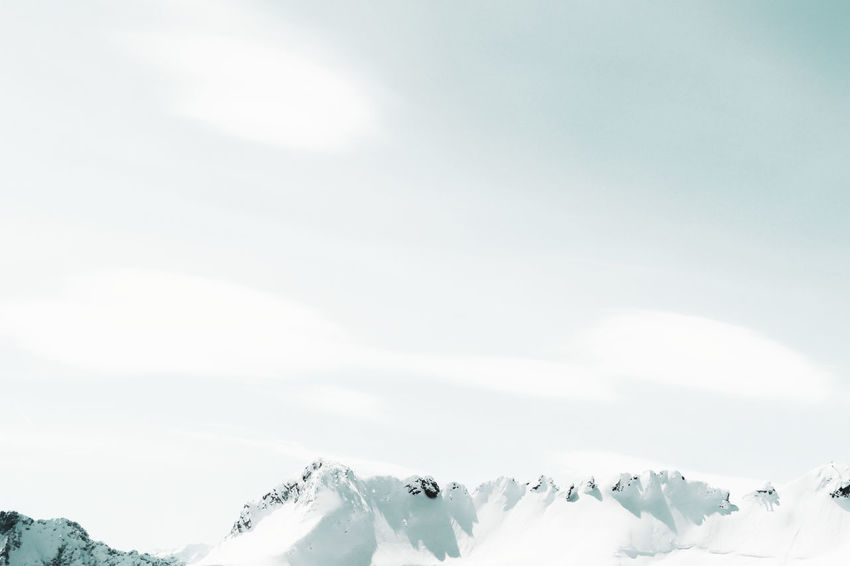 Cloud - Sky Silence No People Backgrounds Full Frame Alps Mountain View Mountains And Sky Bavaria Bayern Betterlandscapes Scenics Landscape Enjoying The View Tranquility Minimalism Snow Cold Temperature Winter Mountain Snowing Sky Snowcapped Mountain Mountain Range Snowcapped Mountain Peak Non-urban Scene Tranquil Scene Countryside Scenic View