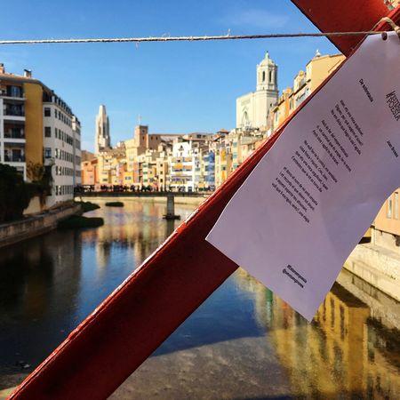 Art Is Everywhere Gironamenamora Girona City Love Poem Poetry Art