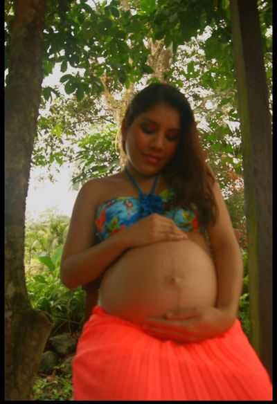 The miracle of new life. Capture The Moment Pregnant Life Sweet Moments Authentic Moments In The Forest Ecuador♥