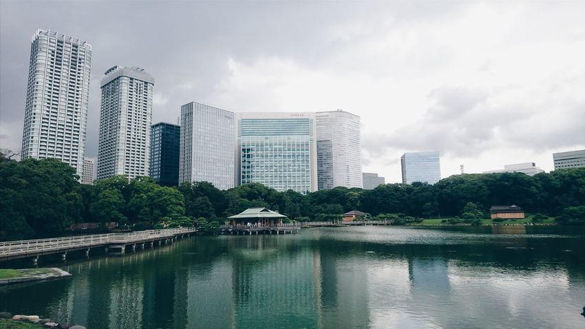 Japan Hamarikiu Garden Hamarikyu Onshi Teien 浜離宮 Cityscape Cityscapes Landscape_photography Landscape Landscape_Collection XperiaZ5