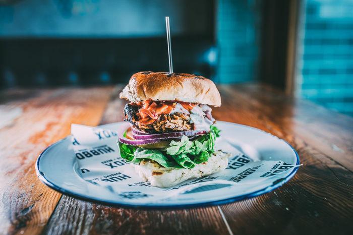 American Food Burger Burgers Fast Food
