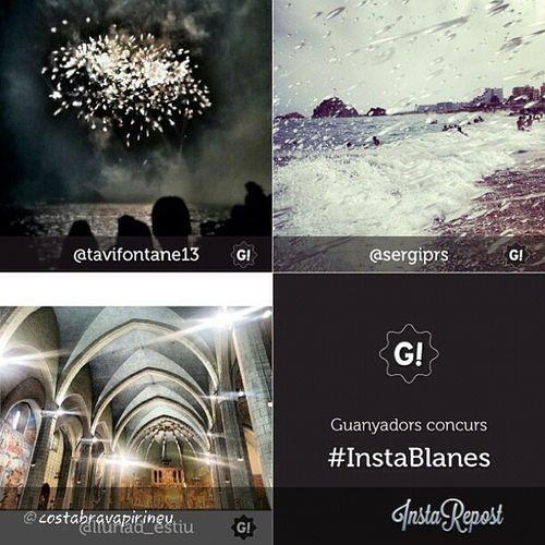 Moltissimes gràcies! @costabravapirineu per haver escollit una de les meves fotos com a finalista al INSTABLANES