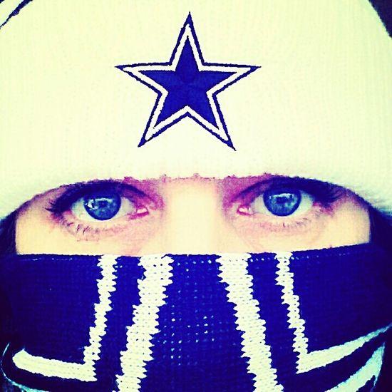 True German Girl Selfie Addict 📷 Today's Hot Look Dallas Cowboys Kinda Girl🏈