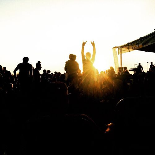 Large Group Of People Music Crowd Silhouette Music Festival Fun Arts Culture And Entertainment Popular Music Concert Enjoyment Togetherness Stage - Performance Space Fan - Enthusiast People Leisure Activity Excitement Event Audience Stage Light Performance Live Event California Dreamin
